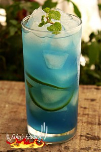 Blue lagoon lime